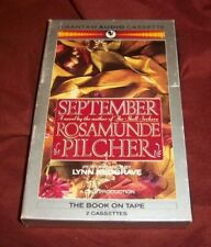 September by Rosamunde Pilcher (2 Cassette Audiobook)