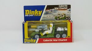 VINTAGE DINKY 361 GALACTIC WAR CHARIOT: MINT AA+. VERY RARE SHOP STOCK