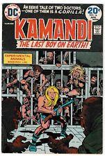 KAMANDI #16 (FN-) Jack Kirby Art & Story! Last Boy On Earth! Bronze-Age 1973 DC