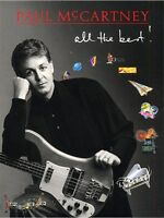 Paul McCartney All The Best MUSIC BOOK Piano Vocal & Guitar with Chord Boxes