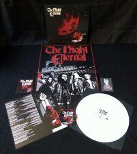 The Night Eternal col LP + PATCH Heavy Metal Judas Priest In Solitude Maiden