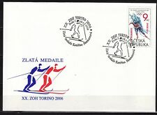CZECH REPUBLIK  2006 FDC SC#  3300 Winter Olympics Games - Turin