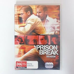 Prison Break Season 2 DVD TV Series Free Post Region 4 AUS - Action