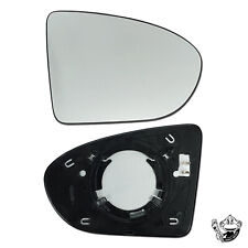 fits NISSAN QASHQAI DRIVER SIDE WING MIRROR GLASS HEATED 2006-2013 (NOT 2007)