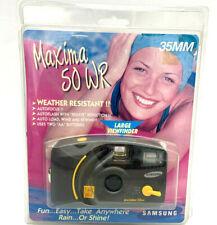 Samsung Maxima 50WR 35MM Water Resistant Camera Vintage NOS