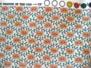 """New P Kaufmann Upholstery Floral & Vine Fabric 2 Yards + 32"""" Stain Repellent #cc"""