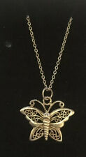 18 Inch Sterling Silver Chain And Pretty Butterfly Pendant - Wear Not Scrap