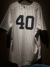 Bartolo Colon NY Yankees 2011 ST opening day game used pinstripe jersey 2/26/11