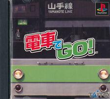 Densha De Go  PS1 Playstation 1 Japan Import  Good     US SELLER