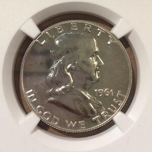 USA 1961 50 Cents NGC PF 67 - PROOF FRANKLIN HALF DOLLAR - Silver