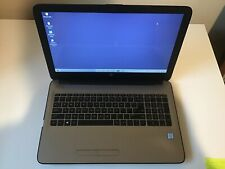"HP 15.6"" Silver Fusion Laptop, Windows 10, Intel Core i3-6100U (15-ay039wm) used"
