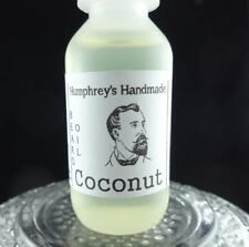 COCONUT Men's Beard Oil, Cologne Oil, Small .5 oz Sample Size Tropical, Serum
