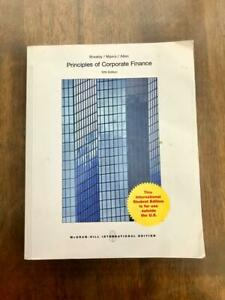 Principles of Corporate Finance Paperback Like New 12th Edition