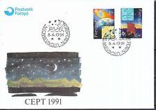 Echte Briefmarken-Ersttagsbriefe aus Europa mit Raumfahrt-Motiv