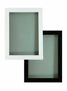 BLACK WHITE  PHOTO FRAME MAXI POSTER FRAME WOOD EFFECT A1,A2,A3,A4