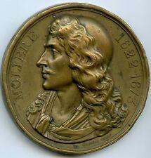 Louis-Philippe Molière 1622 - 1673 Medaille Par Caunois 1844