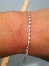 "925 Sterling Silver Bracelet 7 1/2""-10"""