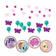 My Little Pony Childrens Party Table Decoration Triple Value Pack Table Confetti