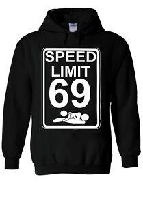 Speed Limit 69 Sex Position Funny Hoodie Sweatshirt Jumper Men Women Unisex 1862