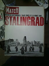 Paris Match n°824 23 janv 1965 n° spécial stalingrad 1945 staline hitler