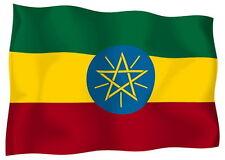 Sticker decal vinyl decals national flag car ensign bumper ethiopia ethiopian