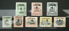 Labuan 1899 4c O/P Part Set to $1  USED