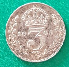 More details for 1905 threepence king edward vii