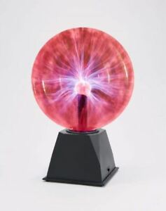 8 Inch Sound and Touch Activated Plasma Ball Lamp, Science Themed Motion Light