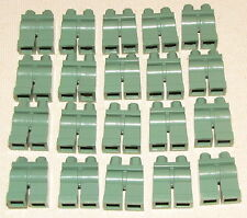 LEGO LOT OF 20 NEW SAND GREEN MINIFIGURE LEGS MINIFIG PANTS BODY PARTS
