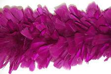 """TURKEY BOA - PLUM 2 Yards 6-8"""" Feathers Costumes"""
