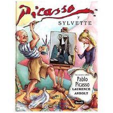 Picasso Y Sylvette: Un Cuento Sobre Pablo Picasso (Spanish Edition)-ExLibrary