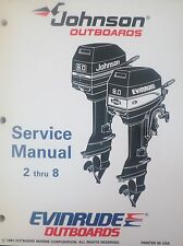 1995 Johnson Evinrude 2 2.3 3.3 4 5 6 8 HP Outboard Shop Service Repair Manual