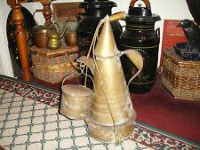 Antique Military Camp Coffee Pot-1800's-Primitive Americana-Large-Unusual