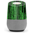 Skin Decal Vinyl Wrap for Google Home stickers skins cover/ matrix code