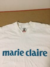 Marie Claire shirt vtg fruit of the loom Xl
