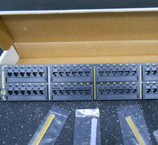 Ortronics Or-838045326 10/100Base-T Fast Ethernet Panel, 48 Ports/ 1,2,3,6 -
