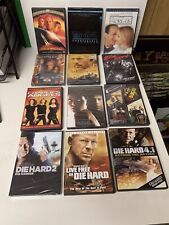 Lot Of 14 Bruce Willis Movies Armageddon Sin City Die Hard Fifth Element