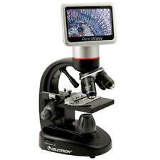 Celestron 44348 LCD Digital Microscope with Adjustable LED Illumination