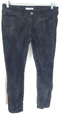 Rich and Skinny Women 30 10 Jeans Built To Spill Skinny Distressed Wash Gray EUC