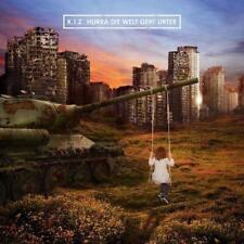 CD Album Hurra Die Welt Geht Unter von K.I.Z K.I.Z. KIZ Boom NEUWARE IN FOLIE