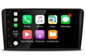 """NAVEGADOR GPS LCD TÁCTIL 8"""" 4K AUDI A3 8P ANDROID 9.0 4GB RAM 64GB ROM.ENVÍO 24H"""