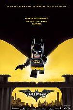The Lego Batman Movie Poster (24x36) - Will Arnett, Jenny Slate, Ralph Fiennes 1