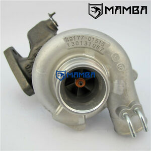 OEM New Turbocharger Mitsubishi Delica Pajero 4D56T 49177-01515 Oil & Water-Cool