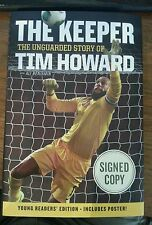 TIM HOWARD SIGNED BOOK THE KEEPER AUTOGRAPH USA SOCCER HARDBACK WORLD CUP AUTO