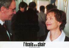 ISABELLE HUPPERT  L'ECOLE DE LA CHAIR 1998 VINTAGE LOBBY CARD #5  BENOIT JACQUOT