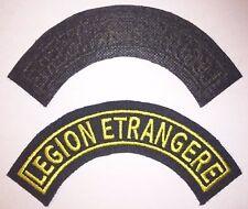 Patch / écusson de bras pour mission OPEX Banane 1/2 lune Légion Étrangère