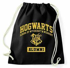 Hogwarts Turnbeutel Allumni School Of Witchcraft and Wizardry Logo Fan Beutel