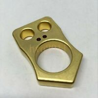 EDC Solid Brass EDC Outdoor Survival Creative Tool Breaker Key Chain Emoticons