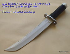 UNITED CUTLERY GIL HIBBEN SURVIVAL HUNTING TANTO FIXED BLADE KNIFE WITH SHEATH
