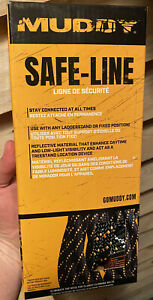 Muddy Safe-Line MSA500 Safe Line Safety Harness Tree Stand 300lb 30'